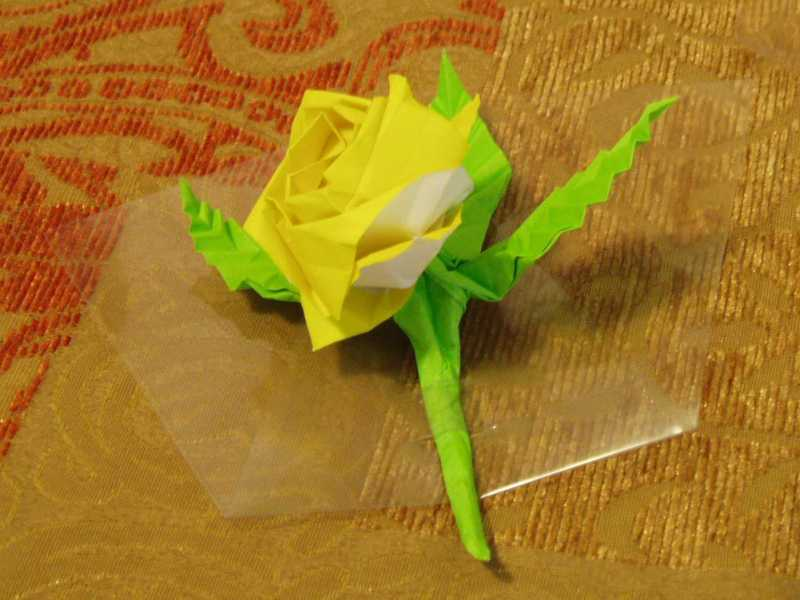 Origami Rose (Jo Nakashima) - YouTube   600x800